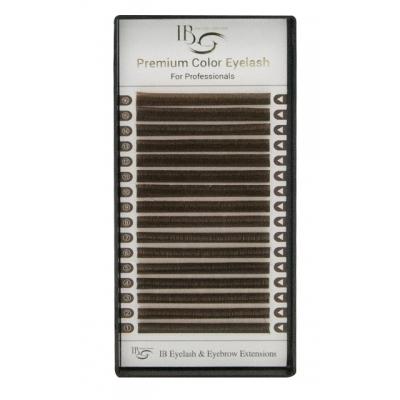 Темно коричневые  Mix CC-Загиб /  0.07мм