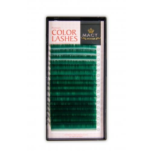 Зеленые MIX D- Загиб/0,15мм