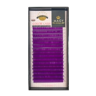 Фиолетовые MIX D- Загиб/0,15мм