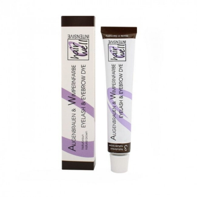 "Hairwell Professional Eyelash/Eyebrow Tint - ""Nature Brown"""