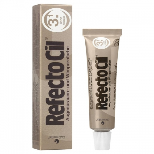 "RefectoCil Professional Eyelash/Eyebrow Tint - ""Light Brown"""