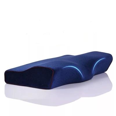 Подушка синяя ортопедическая 60cm