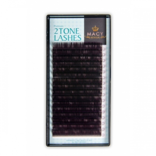Two tone (Violet) MIX D - Curl /0,10мм