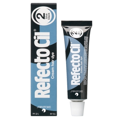 "RefectoCil Professional Eyelash/Eyebrow Tint - ""Blue Black"""